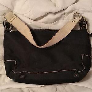 NWOT Small black Gap satchel purse bag